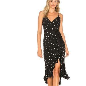 Lovers + friends bridget polkadot dress